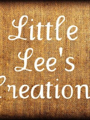Little Lee's Creations – Guest Blogger!!