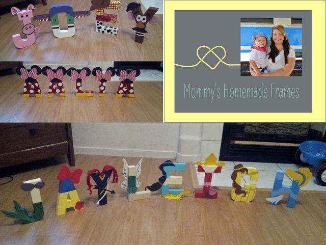 Mommy Homemade Frames – Guest Blogger!