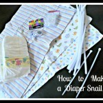 Diaper Snail Tutorial Available