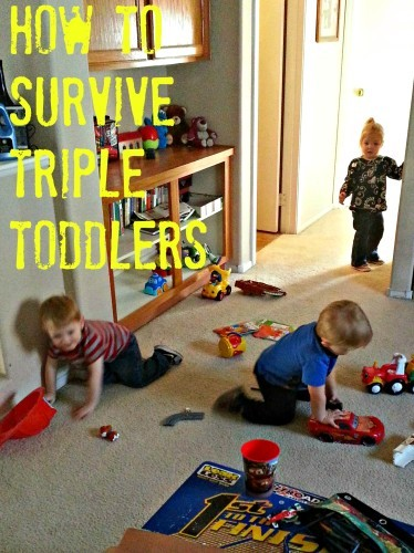 How to Survive Triple Toddlers