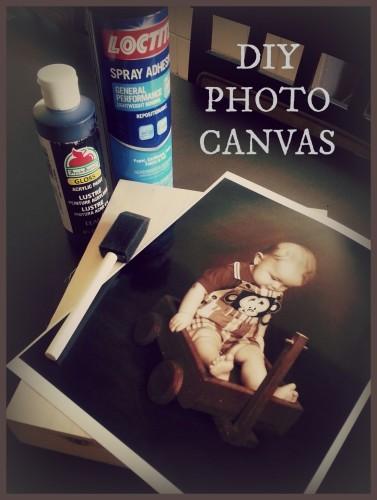 DIY Photo Canvas
