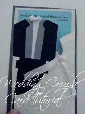 First New Post – aka My Favoritest Wedding Card!