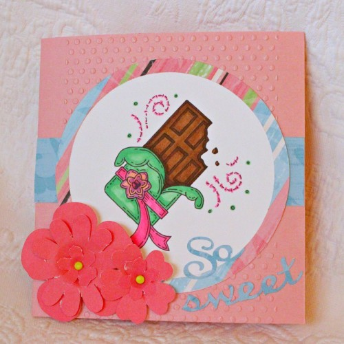 Mother's Day Cards with Meljen's Designs Candy Bar digi