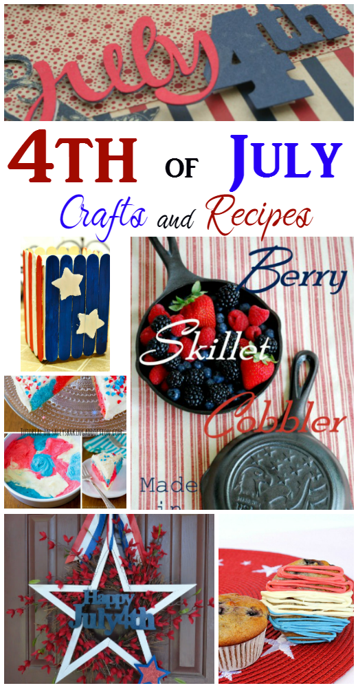 Try some of these amazing 4th of July recipes and crafts to get ready for the holiday!