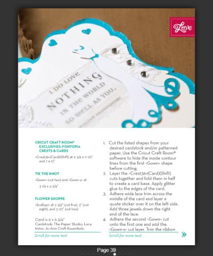 Shabby Chic Wedding Card