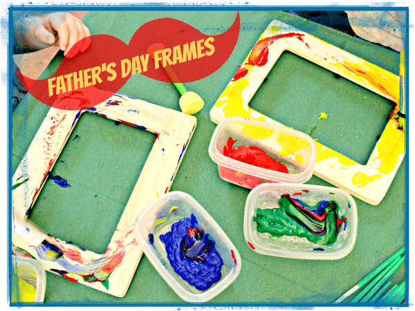 DIY Father's Day Frames