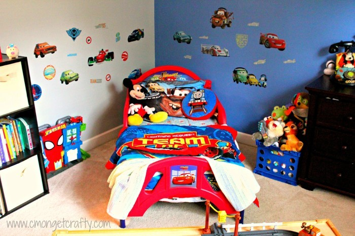 disney pixar cars bedroom ideas your kids will love 10999 | cmongetcrafty cars room785 700x466 9bccc4 9bccc4