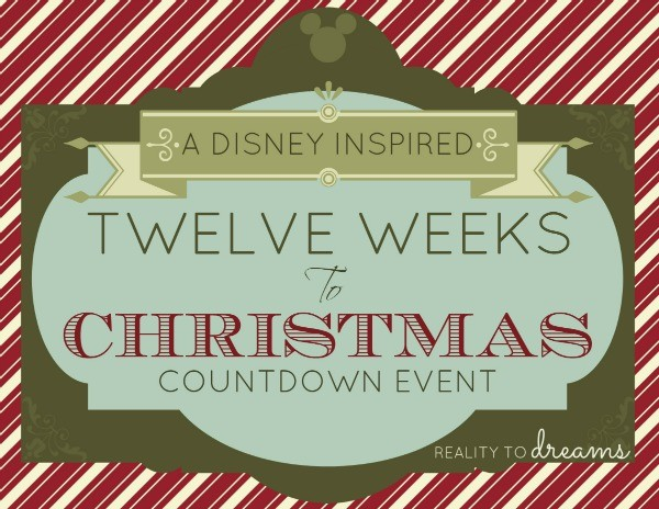 Twelve Weeks to Christmas Giveaway