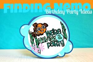 Nemo Birthday Party Ideas