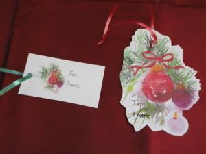 Gift Tags Close Up 2