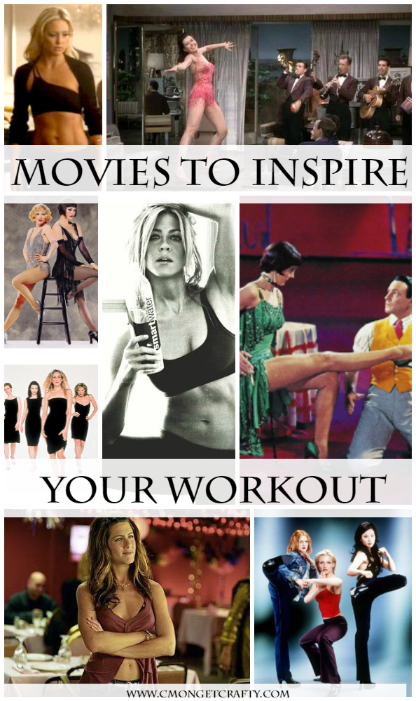 Do you need help getting inspired to work out? Movies sound counter productive, but these stars ALWAYS put me in the mood to shed pounds!