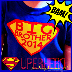 Superhero Big Brother Shirt