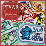 Valentine's Day Pixar Printables