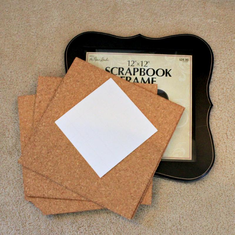 Corkboard Picture Frame