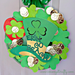 Dollar Store St. Patrick's Day Wreath