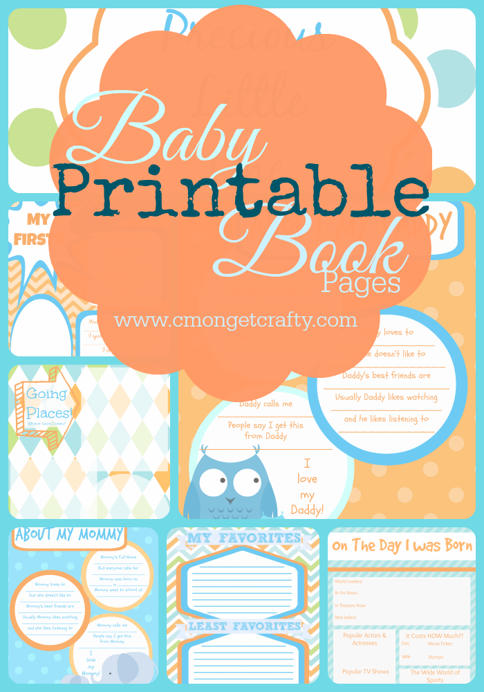 graphic regarding Free Printable Baby Book Pages called Printable Child Ebook Webpages Free of charge Down load