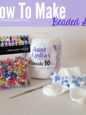 Guest Post: How to Make Beaded Socks