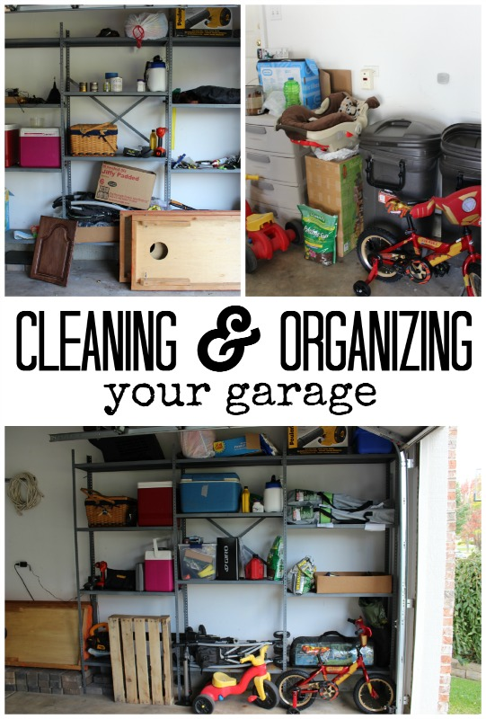 Cleaning & Organizing Your Garage with P&G