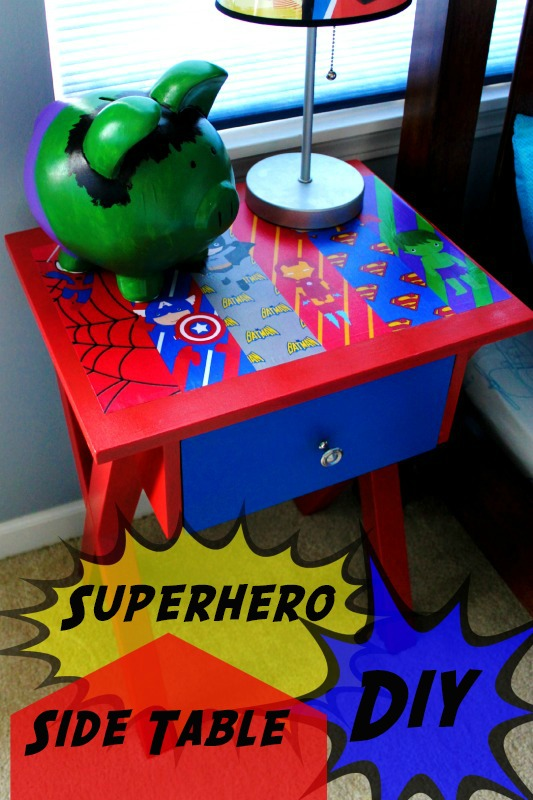 Super Hero Side Table