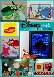 Disney Cricut Crafts Pin