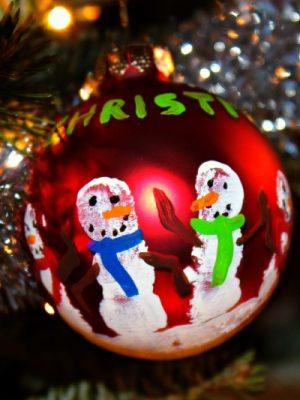 Handprint Ornament Christmas Kid's Craft