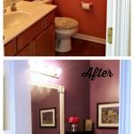 Bathroom Transformation: DIY a Pretty Powder Room on a Budget