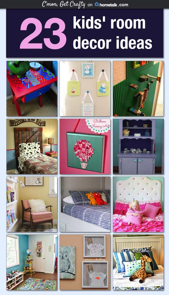 23 Kids' Room Decor Ideas