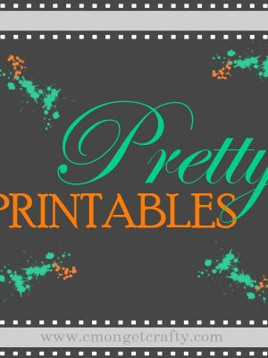 Pretty Printables #1: Easter Printables