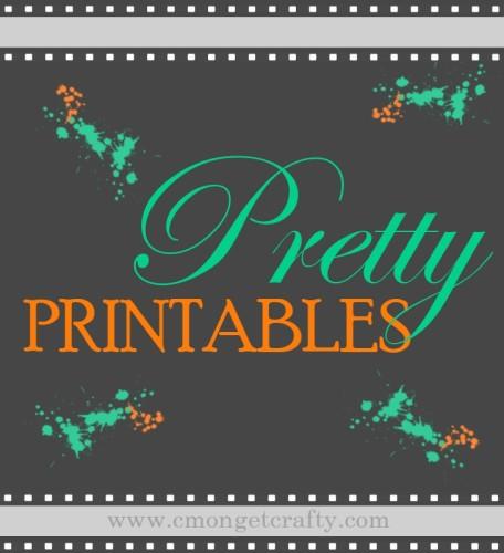 Pretty Printables