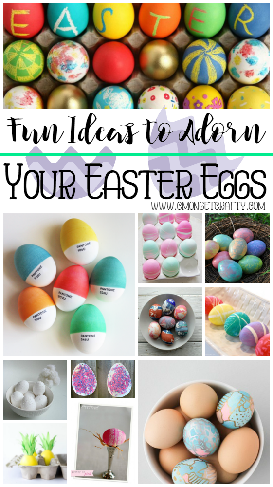 easter decorating ideas to beautify your easter 10 Fun and Affordable Easter Egg Decorating Ideas