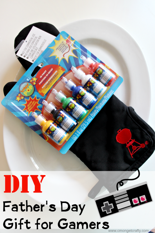 diy father s day gift for a gamer dad c mon get crafty