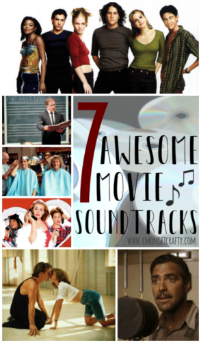I love to listen to music, and so many of my favorite playlists come from movie soundtracks! Check out these 7 awesome movie soundtracks sure to get you up and moving!