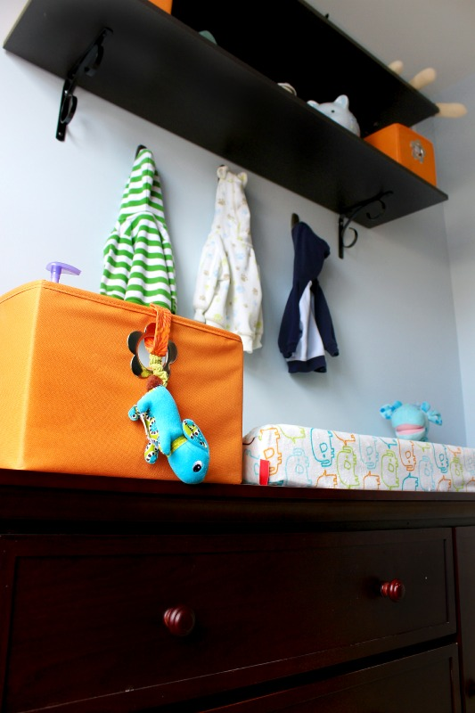 Orange & Teal Nursery Reveal