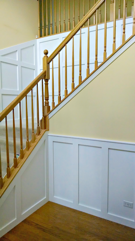 Painting Oak Stairs