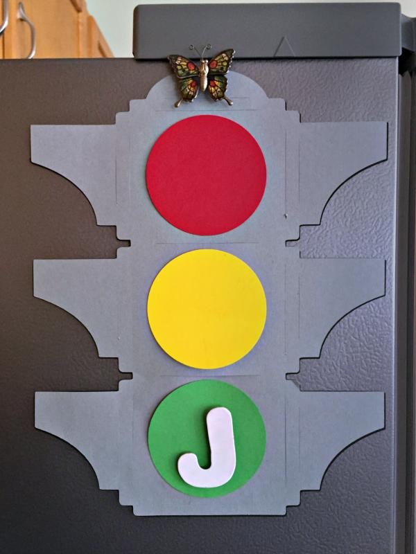 Traffic Light Behavior Chart