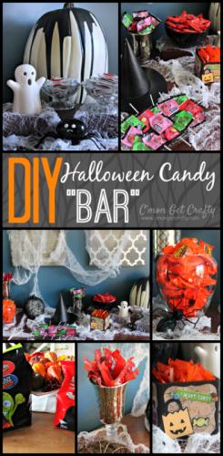 DIY Halloween Candy Bar