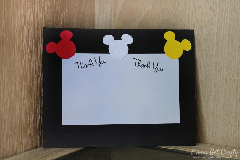 Disneyland Themed Birthday Invitations