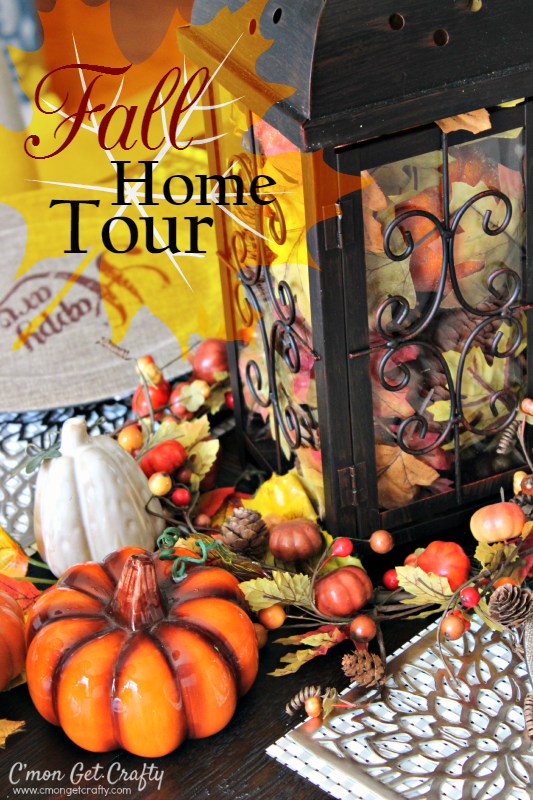 Fall Home Tour Dining Room Tablescape