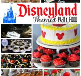 Disneyland Themed Food