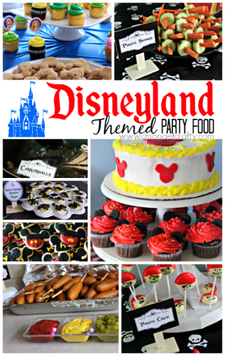 Disneyland Themed Food