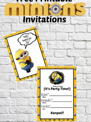 photograph about Minions Printable Invitations named birthday invitation Archives - Cmon Consider Cunning