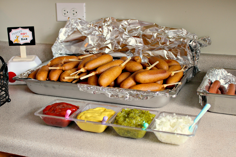 Disneyland Thmeed Party Food Ideas