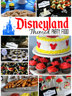 Disneyland Themed Party Food Ideas {Free Printables!}