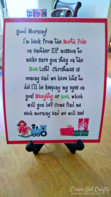 welcome letter elf on the shelf ideas plenty of fun ideas for your elf this season
