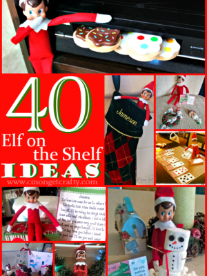 40 Elf on the Shelf Ideas PLUS Free Printables!!