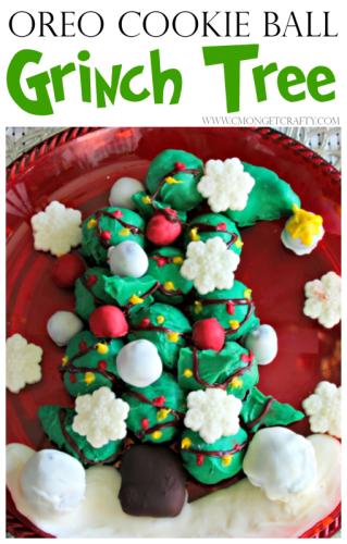 OREO Cookie Ball Grinch Tree