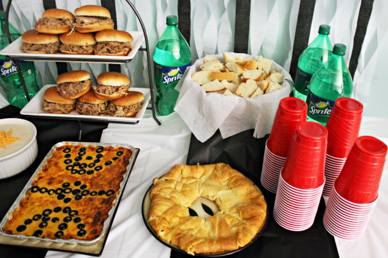 Basketball party food