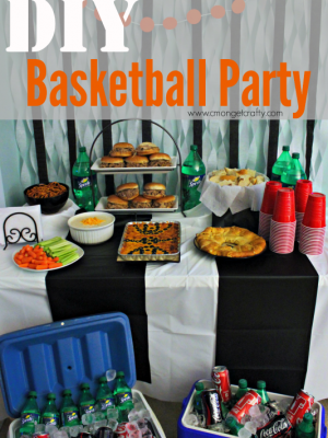#HoopMadness DIY Basketball Party
