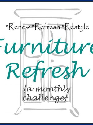Updated Dining Room Table – April Furniture Refresh