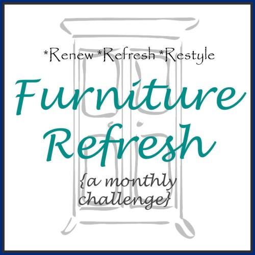 Furniture Refresh Monthly Challenge